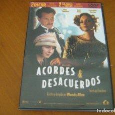 Cine: ACORDES & DESACUERDOS / WOODY ALLEN ( DVD ). Lote 134884722