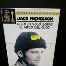 Cine: ALGUIEN VOLÓ SOBRE EL NIDO DEL CUCO DVD. Lote 134986443