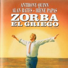Cine: ZORBA EL GRIEGO ANTHONY QUINN . Lote 134998634