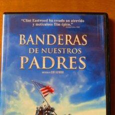 Cine: BANDERAS DE NUESTROS PADRES (DVD). Lote 135009230