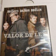 Cine: DVD ORIGINAL NUEVO SIN ABRIR *VALOR DE LEY*. Lote 135022351