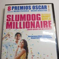 Cine: DVD ORIGINAL *SLUMDOG MILLIONAIRE*. Lote 135024926