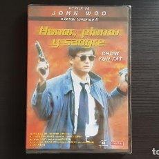 Cine: HONOR, PLOMO Y SANGRE - JOHN WOO - CHOW YUN FAT - DVD - MANGA FILMS. Lote 135065394