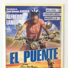Cinema: EL PUENTE. JUAN ANTONIO BARDEM. DVD. SIN PRECINTAR. Lote 135223442