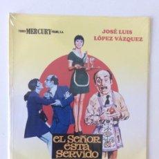 Cinema: EL SEÑOR ESTÁ SERVIDO. SINESIO ISLA. DVD. PRECINTADO. Lote 135224270