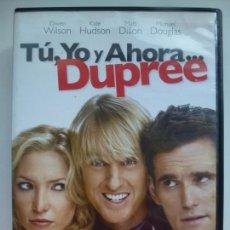 Cine: TÚ, YO Y AHORA... DUPREE. DVD.. Lote 135263046