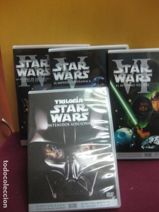 Cine: TRILOGIA STAR WARS MASTERIZADA. DVD. + UN DVD CON CONTENIDOS ADICIONALES. - Foto 3 - 135311510