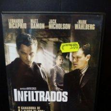Cine: INFILTRADOS DVD. Lote 135404002