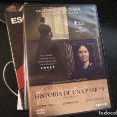 Cine: HISTORIA DE UNA PASION EMILY DICKINSON UNA DE LAS MAS GRANDES POETISAS DEL MUNDO. Lote 135468018
