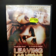 Cine: LEAVING LAS VEGAS DVD. Lote 135481585