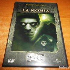 Cine: LA MOMIA BORIS KARLOFF DVD DEL AÑO 2002 ESPAÑA COMENTARIOS DEL HISTORIADOR PAUL M. JENSEN TERROR. Lote 135515738