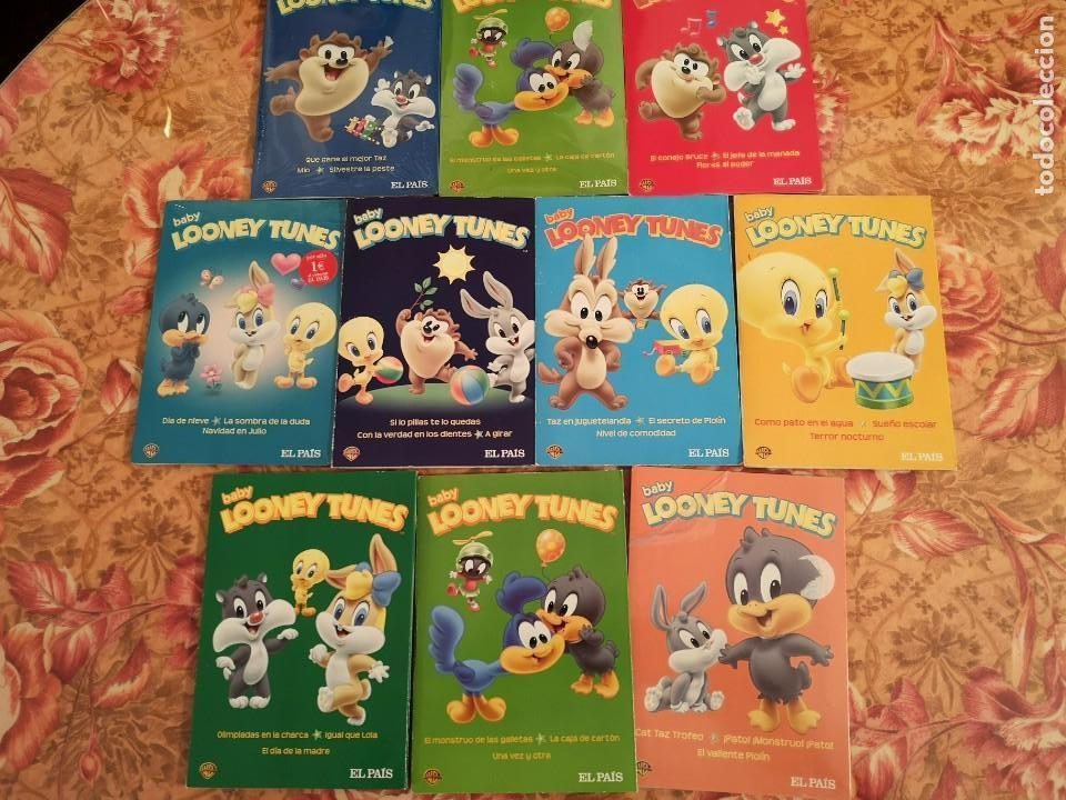 Baby Looney Tunes (10 DVD) segunda mano