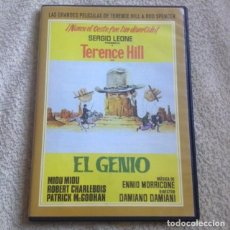 Cine: EL GENIO DVD CON TERENCE HILL. Lote 135564782