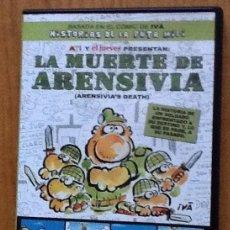 Cine: LA MUERTE DE ARENSIVIA. DVD. BASADA EN EL CÓMIC DE IVA, HISTORIAS DE LA PUTA MILI. Lote 135651015