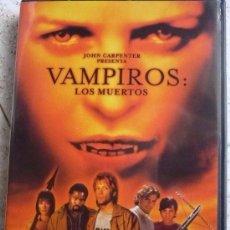 Cine: CINE DVD: VAMPIROS: LOS MUERTOS - JOHN CARPENTER *IMPECABLE*. Lote 135664475