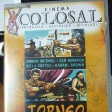 Cine: CINE DVD: TORNEO A MUERTE - CINEMA COLOSAL *IMPECABLE*. Lote 135664763