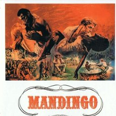 Cine: MANDINGO JAMES MASON . Lote 135678371