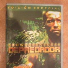 Cine: DVD DEPREDADOR EDICIÓN ESPECIAL DOS DISCOS. Lote 135707483