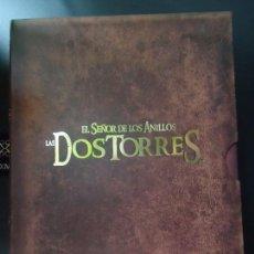Cine: PELÍCULA. DVD, EL SEÑOR DE LOS ANILLOS LAS DOS TORRES. VERSIÓN EXTENDIDA. 4 DISCOS.. Lote 135811578