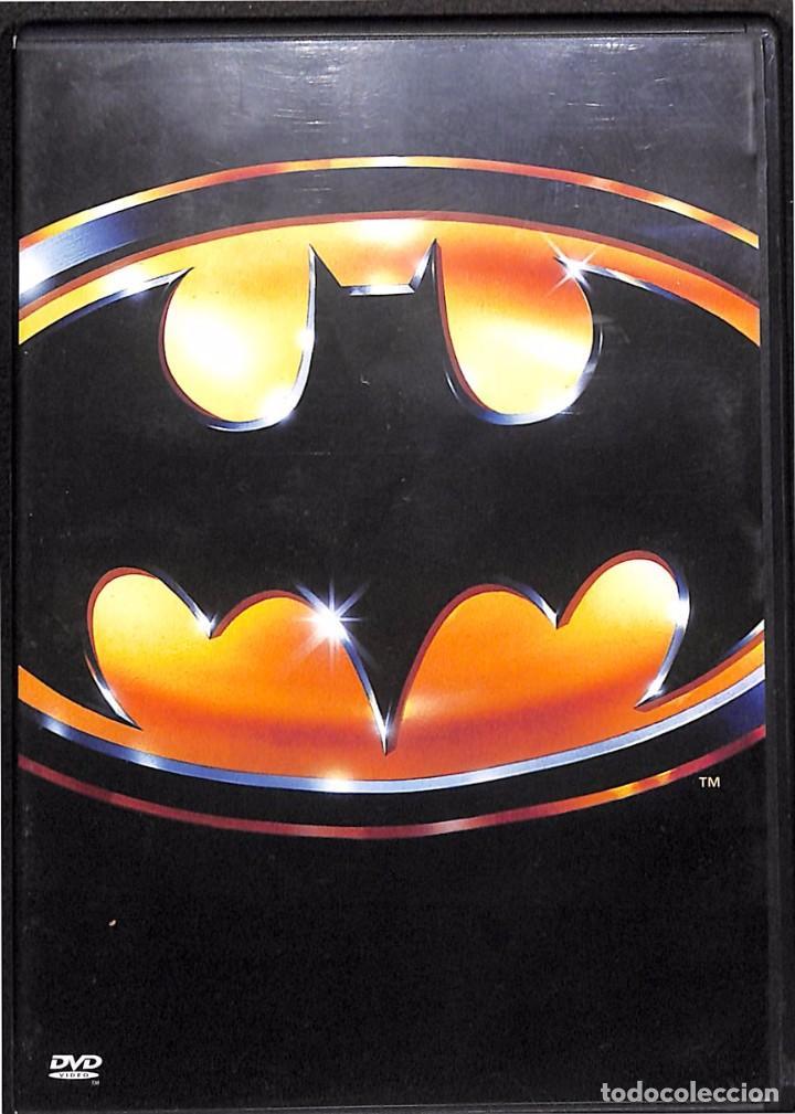 DVD BATMAN - NICHOLSON / KEATON - 1989 (Cine - Películas - DVD)