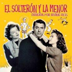 Cinema: EL SOLTERON Y LA MENOR (NUEVO). Lote 289728478