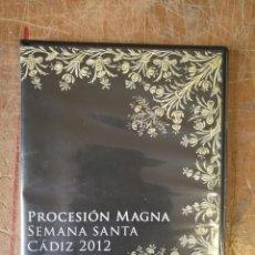 Cine: DVD SEMANA SANTA PROCESION MAGNA CADIZ 2012. Lote 171833080