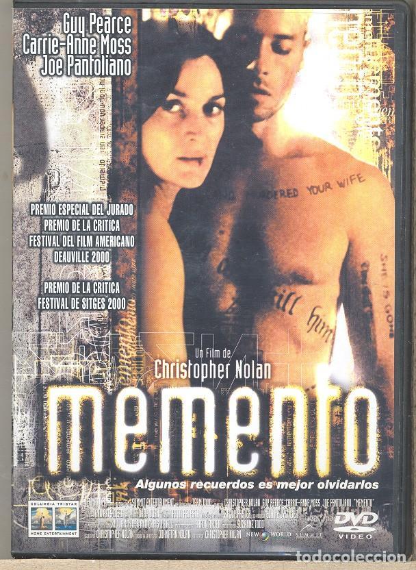 DVD - MEMENTO: ¿QUÉ HARIAS SI TU MEMORIA DESAPARECIERA CADA 5 MINUTOS? ..FILM ORIGINAL E IRREPETIBLE segunda mano