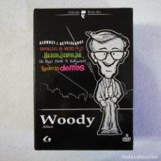Cine: PACK 5 PELICULAS DE WOODY ALLEN - 5 DVDS. Lote 135913238