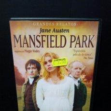 Cine: MANSFIELD PARK DVD. Lote 135919583