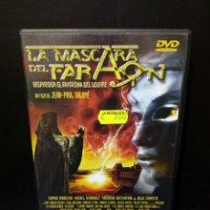 Cine: LA MÁSCARA DEL FARAÓN DVD. Lote 135925003