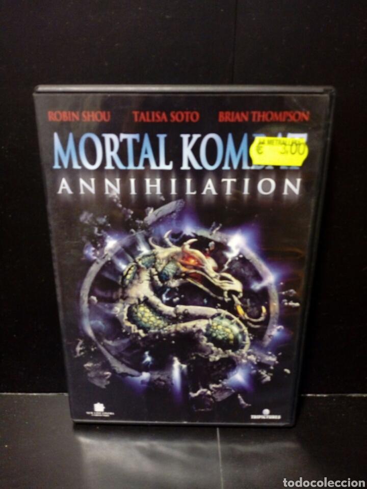 MORTAL KOMBAT DVD (Cine - Películas - DVD)