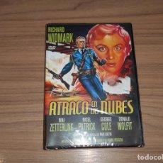 Cine: ATRACO EN LAS NUBES DVD RICHARD WIDMARK NUEVA PRECINTADA. Lote 187464081