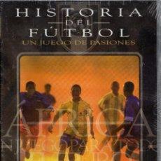 Cine: HISTORIA DEL FÚTBOL. ÁFRICA, UN JUEGO PARA TODOS. FUTURO. DVD-4362. Lote 136182274