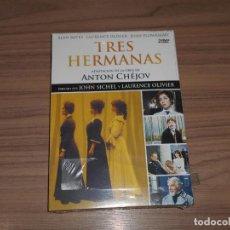 Cine: TRES HERMANAS DVD ADAPTACION ANTON CHEJOV ALAN BATES LAURENCE OLIVIER NUEVA PRECINTADA. Lote 184052951