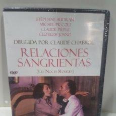Cine: RELACIONES SANGRIENTAS DVD -PRECINTADO-. Lote 136221762