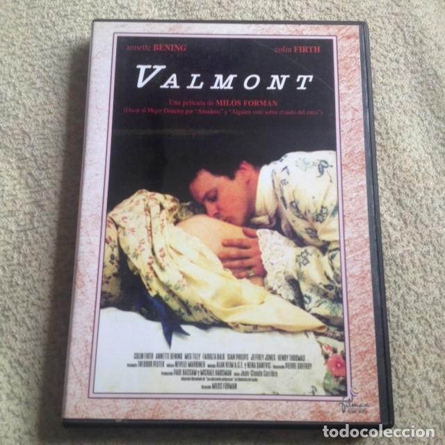 VALMONT DVD DE MILOS FORMAN CON ANNETTE BENING Y COLIN FIRTH **INTRIGA AMOROSA** segunda mano