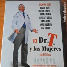Cine: EL DR. T Y LAS MUJERES DE ROBERT ALTMAN CON RICHARD GERE - DVD - . Lote 136379218