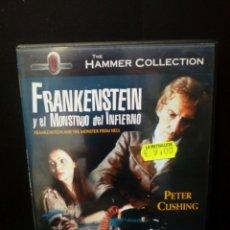 Cine: FRANKENSTEIN Y EL MONSTRUO DEL INFIERNO DVD. Lote 136504632