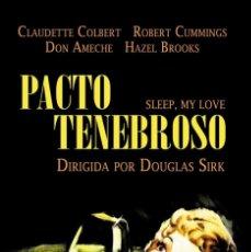 Cine: PACTO TENEBROSO (NUEVO). Lote 136507622