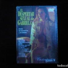 Cine: EL DESPERTAR SEXUAL DE GABRIELA CINE DE MEDIA NOCHE - DVD NUEVO PRECINTADO. Lote 188680416