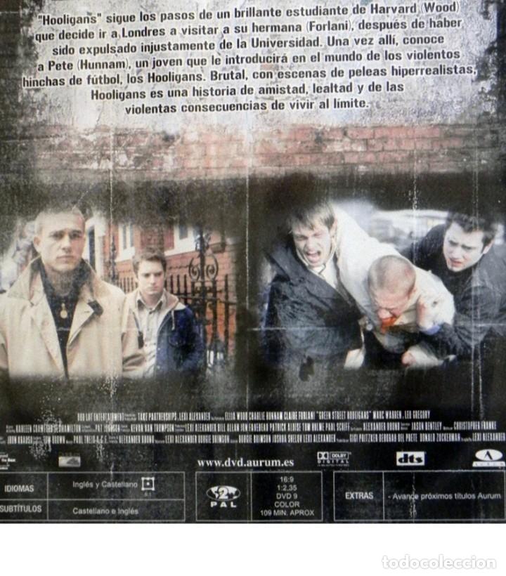 Cine: HOOLIGANS MANTENTE EN PIE DVD PELÍCULA ELIJAH WOOD FÚTBOL VIOLENCIA INGLESES HINCHAS PELEAS DEPORTE - Foto 2 - 136613342