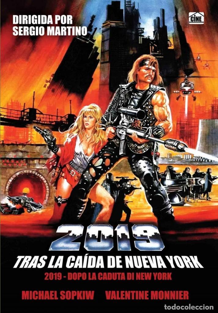 2019, TRAS LA CAÍDA DE NUEVA YORK (NUEVO) (Cine - Películas - DVD)