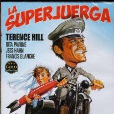 Cine: DVD LA SUPERJUERGA (RITA PAVONE + TERENCE HILL) ...EL PROPIO TITULO LO DICE TODO (LEER). Lote 180284206