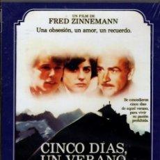 Cine: CINCO DIAS, UN VERANO DVD (F. ZINNEMANN +SEAN CONNERY) UN CORTO PLAZO PARA VIVIR SU AMOR PROHIBIDO. Lote 136666334