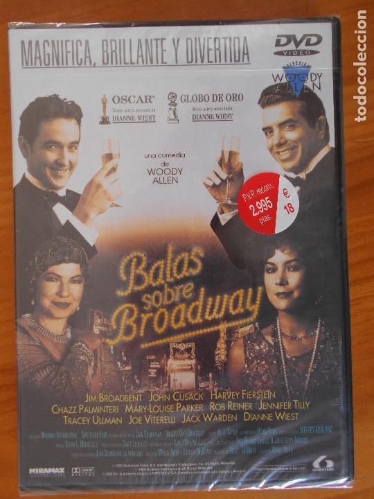 DVD BALAS SOBRE BROADWAY - WOODY ALLEN - NUEVA, PRECINTADA (EÑ) segunda mano