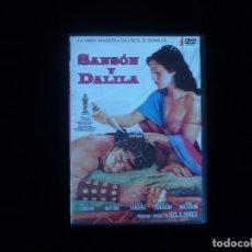 Cine: SANSON Y DALILA - DVD CASI COMO NUEVO. Lote 136755490
