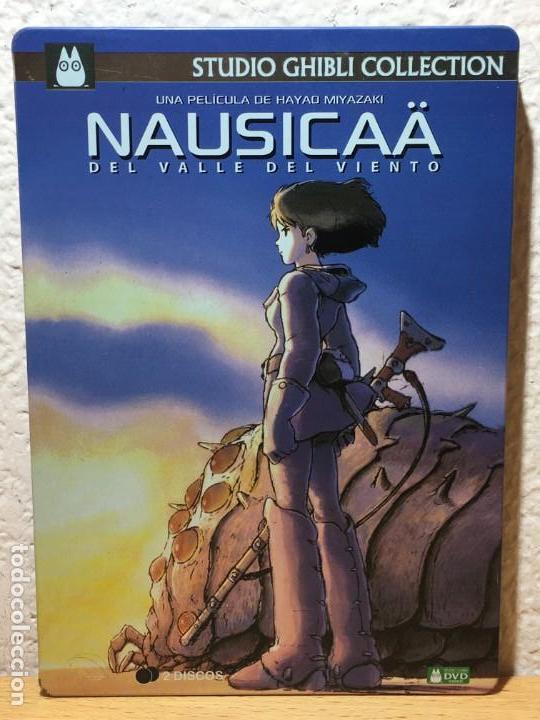 Nausicaä del Valle del Viento (1984) / Edición Metálica 2 DVD´S - Hayao Miyazaki segunda mano