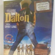 Cine: LOS DALTON CONTRA LUCKY LUKE DVD -PRECINTADO-. Lote 136846624