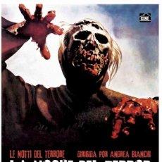 Cine: LA NOCHE DEL TERROR: MASACRE ZOMBI (NUEVO). Lote 178785501
