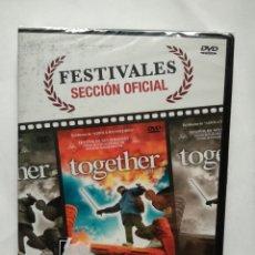 Cine: TOGETHER DVD (CAJA Y CARÁTULA ROTA). Lote 137128100